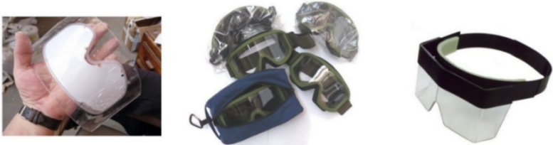demining goggles